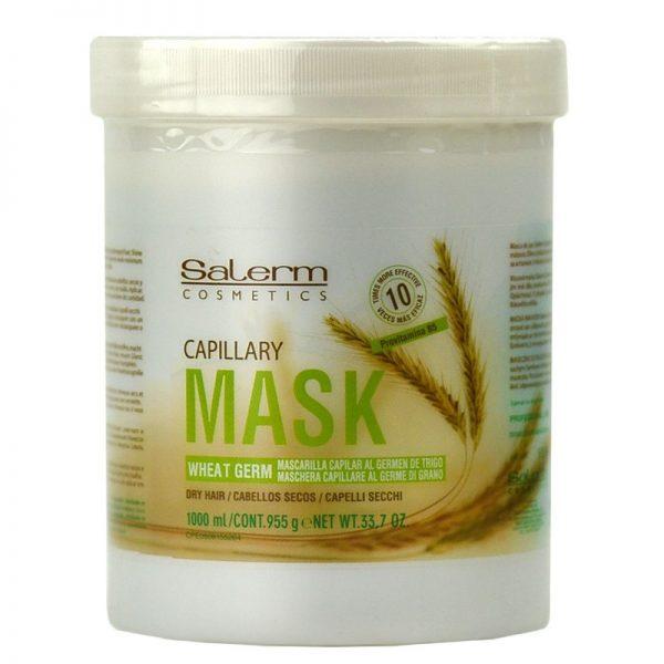 Маска с пшеничен зародиш от Salerm Cosmetics на супер ниски цени