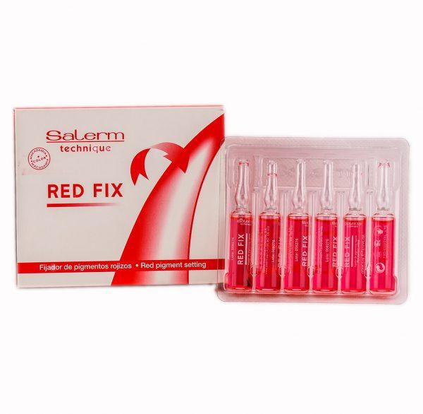 Ампули за подсилване на червения цвят - Професионална козметика Salerm на ниски цени