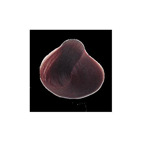 Професионална боя за коса с амоняк Salerm Dark-aubergine-5.96